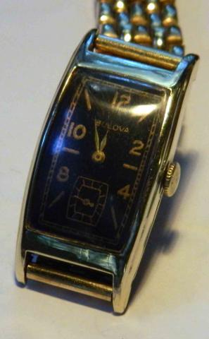 1937 Minute Man Bulova watch