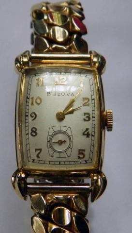 1950 Broadcaster Bulova watch