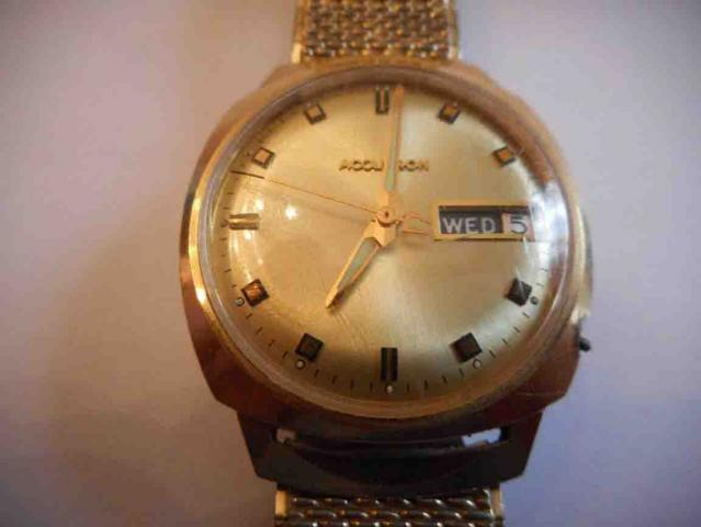 1969 Accutron Bulova watch
