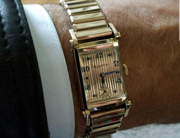 1950 Bulova Academy Award X watch