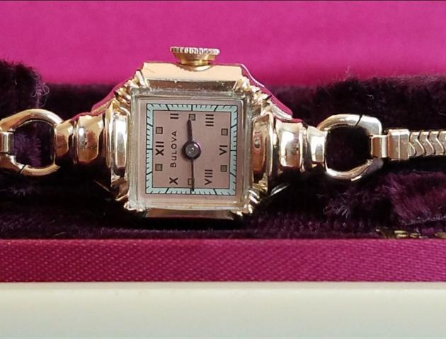 1947 Bulova Her Excellency N watch