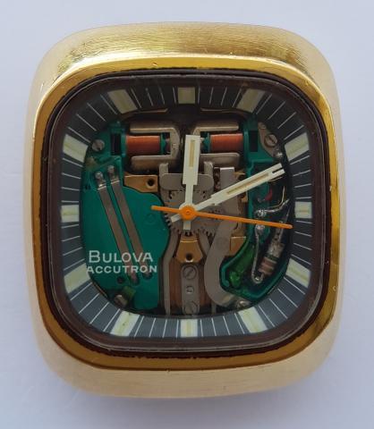 1973 Bulova Accutron SpaceView watch
