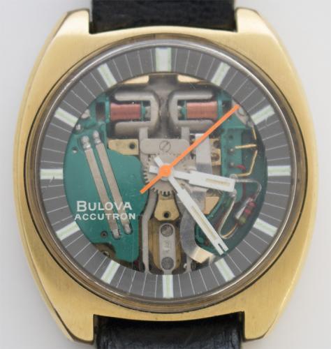 José Serra Accutron Spaceview 1970 Bulova watch