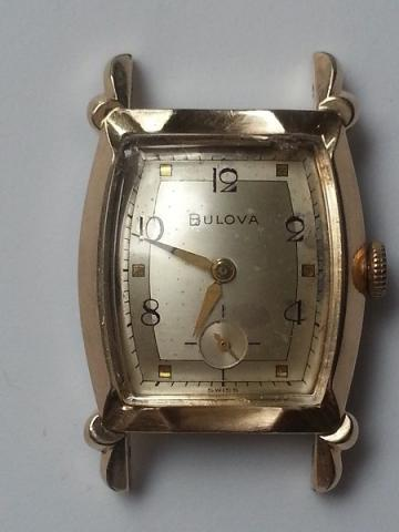 1953 Bulova Ambassador E watch