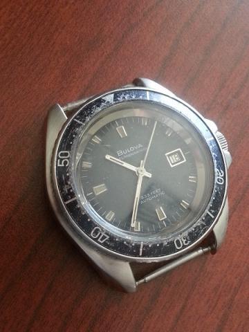 1966 Oceanographer Bulova watch