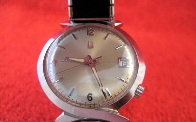 1967 Bulova Accutron Calendar watch