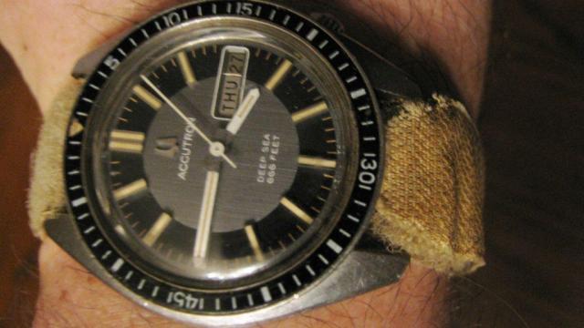 1971 Accutron Deep Sea Bulova watch