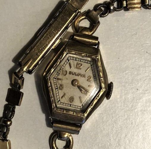 1938 Bulova Violet watch