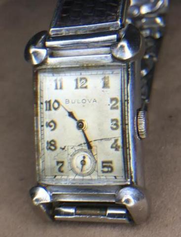 1950 Bulova His Excellency NN watch