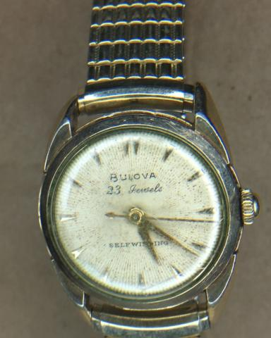 [field_year-1956] Bulova watch