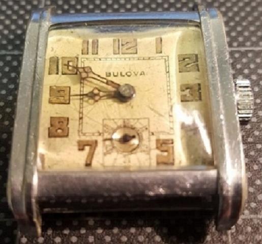 1929 Bulova Square Dial Manual Watch