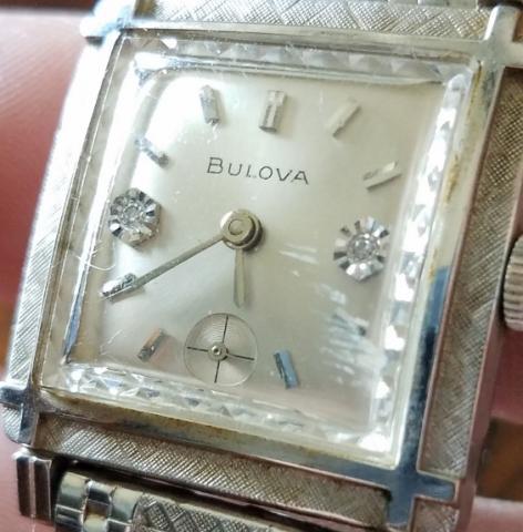 1967 Bulova Diamond Excellency watch