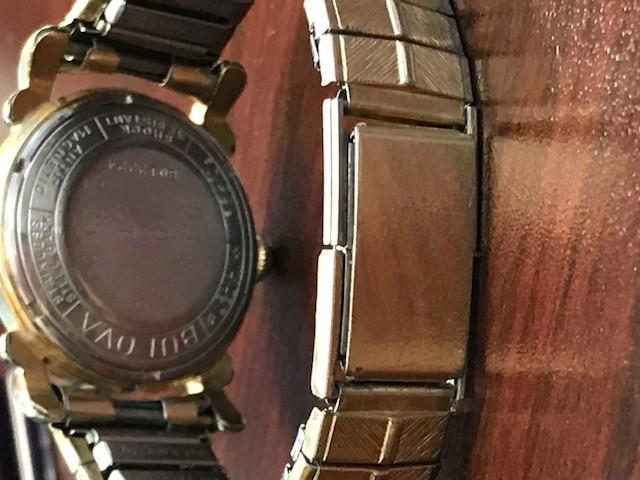 Winchester Band Bulova watch